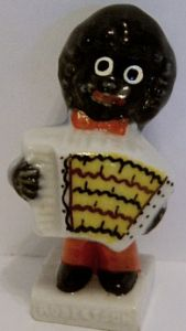 Wade 1960s China Figurine - The Accordian Player - SOLD